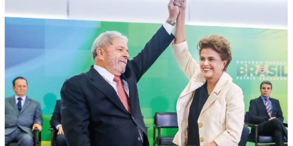Fuero de Lula dura 40 minutos; juez invalida cargo de ministro