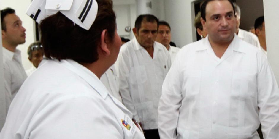 "Entra en operación ""Red de Frío"" en Cancún, informa Roberto Borge"
