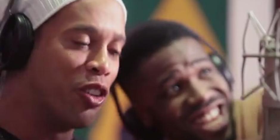 Ronaldinho canta en el tema oficial de los Paralímpicos