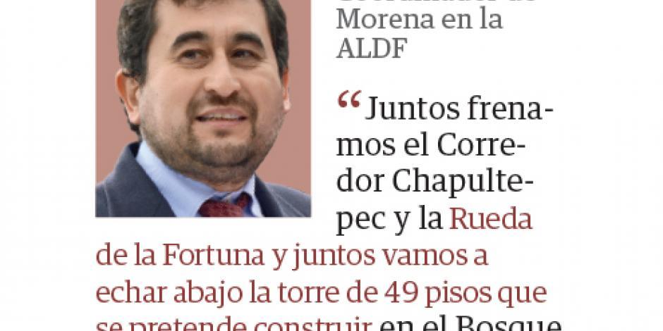Morena presenta como logros obras frenadas