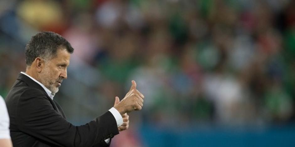 """Deseo estar en el """"Tri"""" por mucho tiempo, apunta Juan Carlos Osorio"""