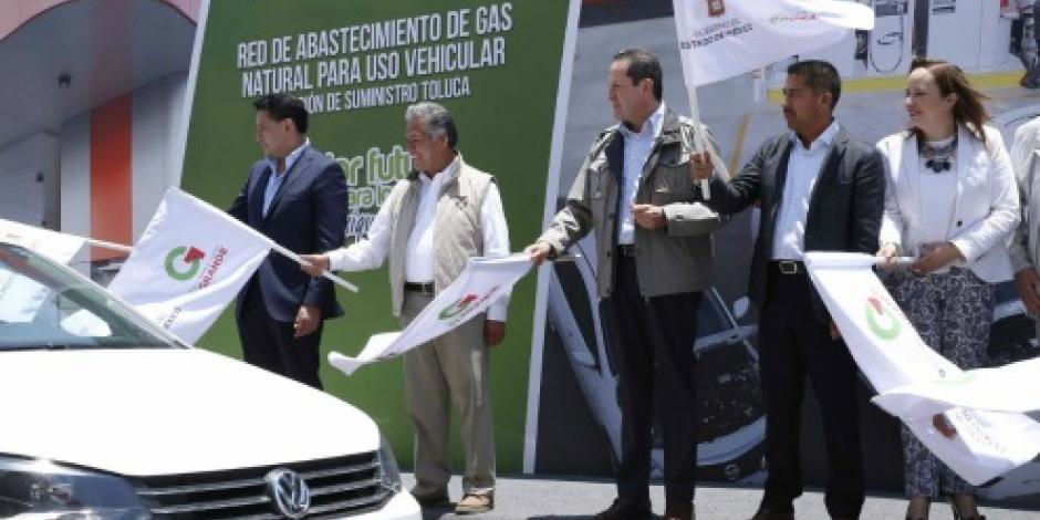 Propone Eruviel uso de gasolina a gas natural en la Megalópolis