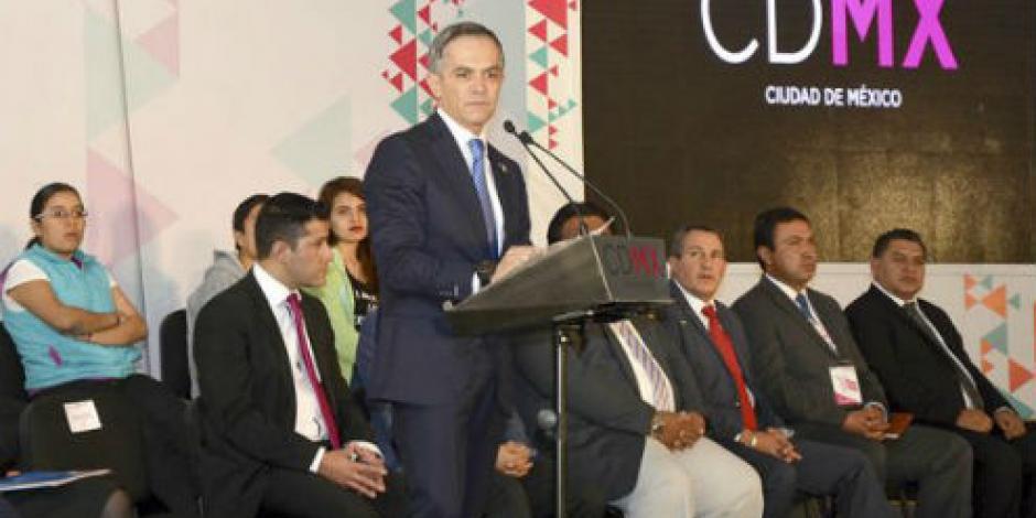 No importa quién sea el candidato en 2018, sino el proyecto, señala Mancera