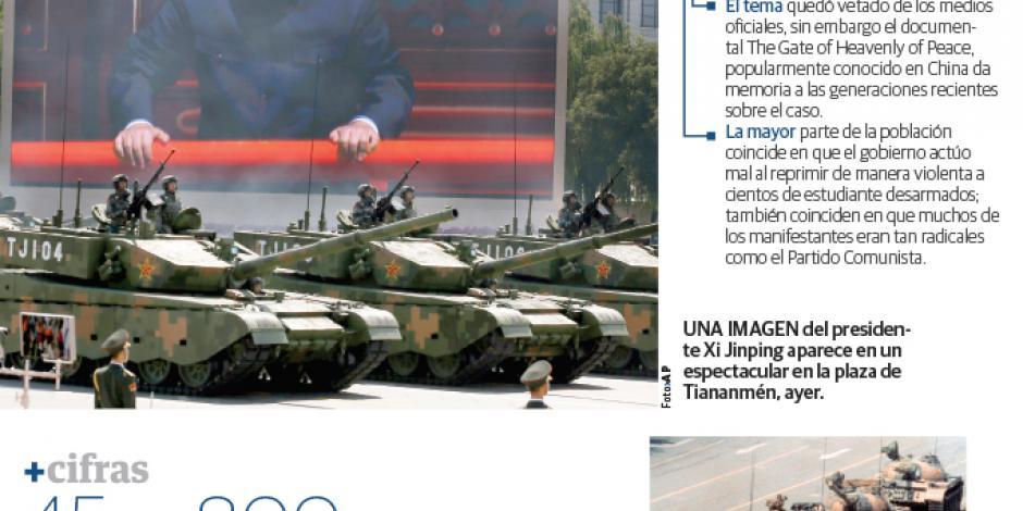 China libera al último preso de Tiananmén
