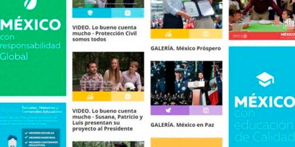 Conoce los 5 ejes que regirán el Cuarto Informe de Gobierno de EPN