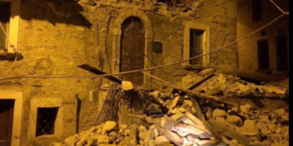 Italia confirma dos muertos tras sismo