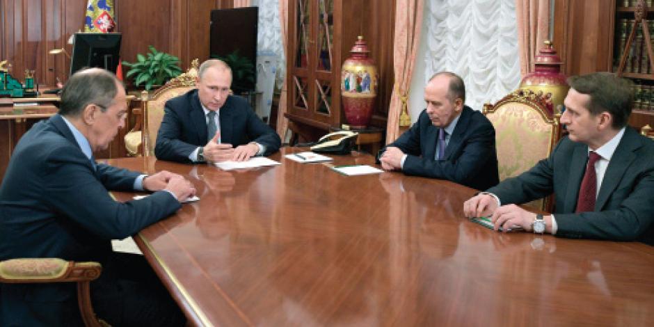 Putin arma pacto con Turquía e Irán sobre Siria, sin Estados Unidos