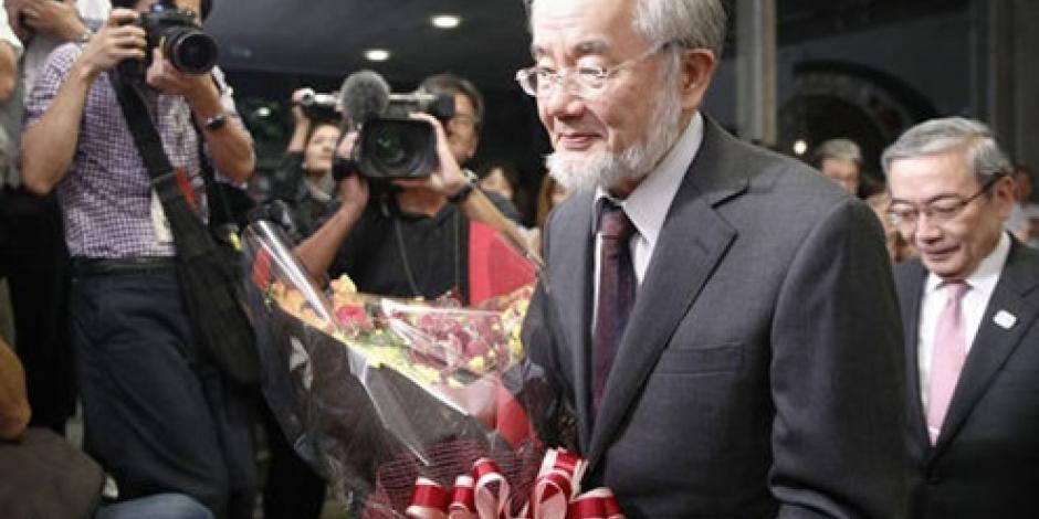 Yoshinori Ohsumi gana Nobel de Medicina por hallazgos sobre reciclaje celular