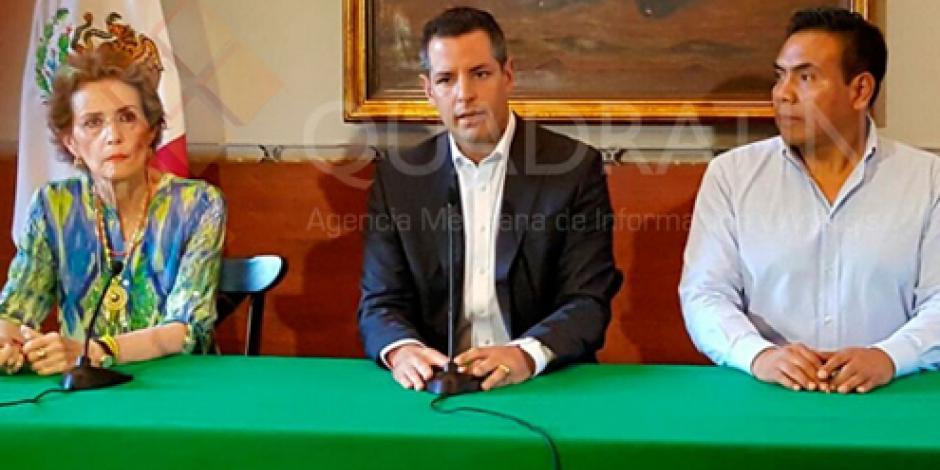 Anuncia Alejandro Murat fin de paro de labores en sector salud de Oaxaca