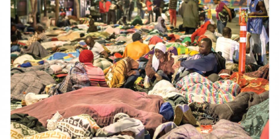 Piden emergencia por haitianos