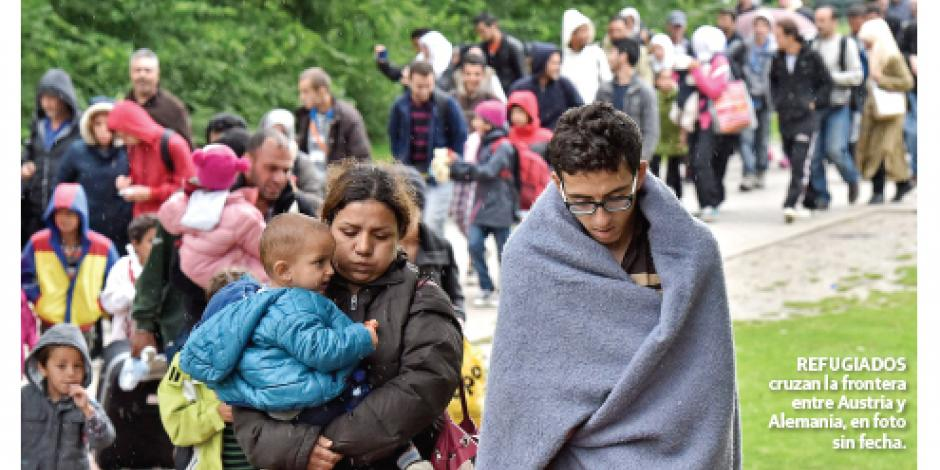Obligado hablar alemán para pedir asilo a Merkel