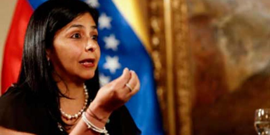 Canciller venezolana crítica a Ruiz Massieu por recibir a Tintori