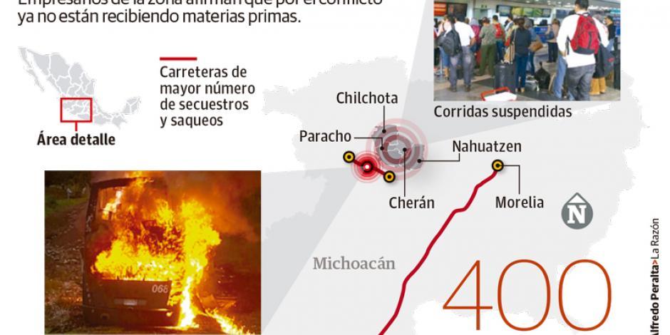 """Cocas y papitas,  lo que más roban normalistas como parte de su """"lucha"""""""