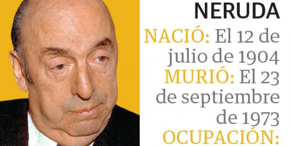 Ordenan sepultar a Neruda a 3 años de la exhumación