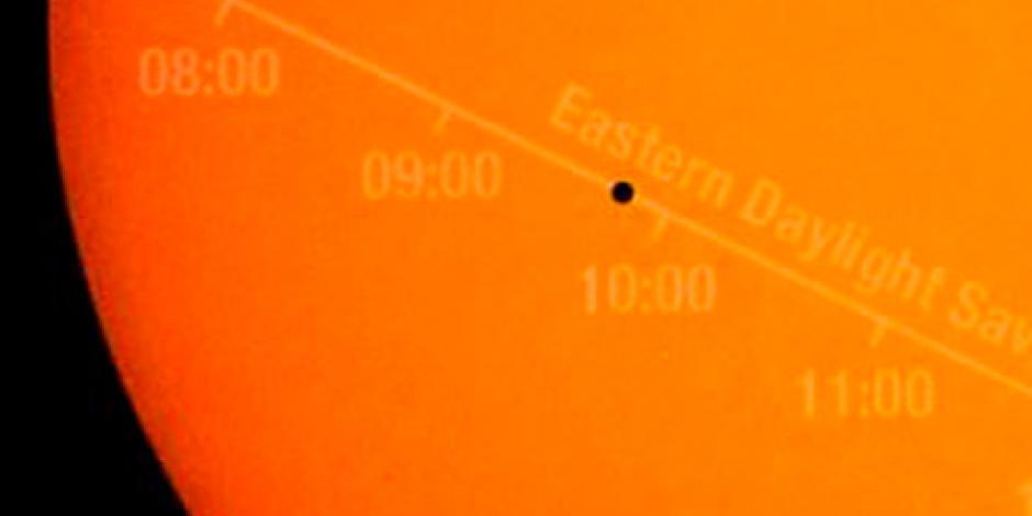 Mercurio inicia su tránsito solar