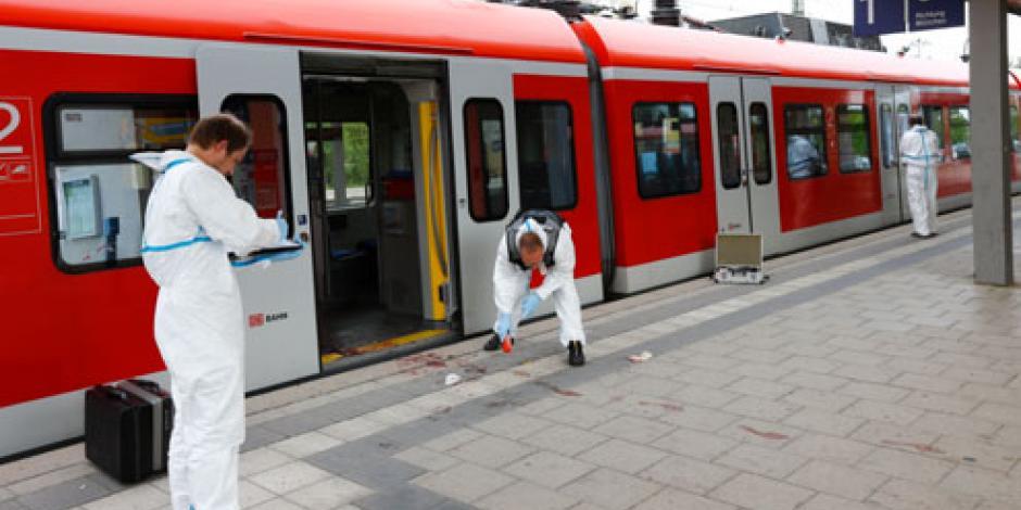 Un muerto tras ataque a una estación de tren en Alemania