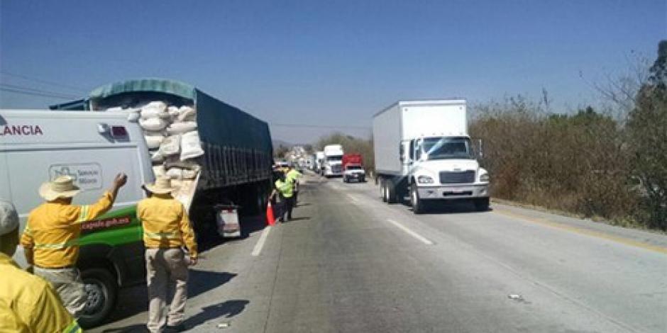 Se reanuda la circulación en la México-Querétaro