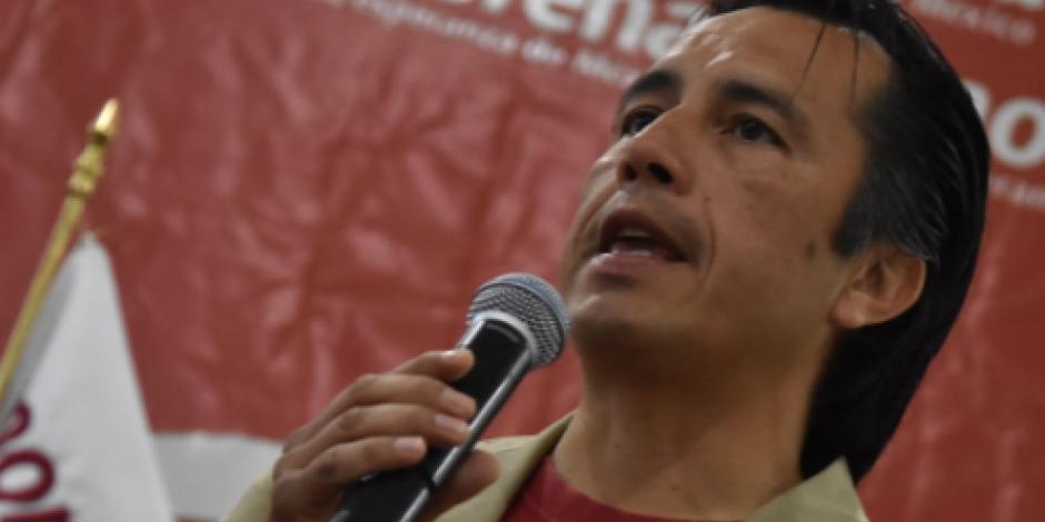 Promete candidato de Morena al gobierno de Veracruz tirar Reforma Educativa