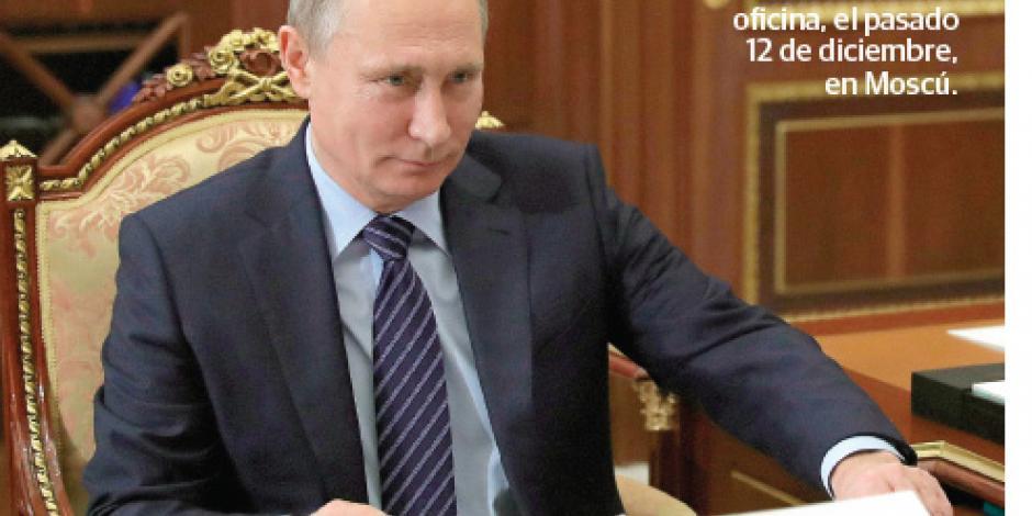 NBC: Putin ordenó hackeo en EU para que Trump ganara