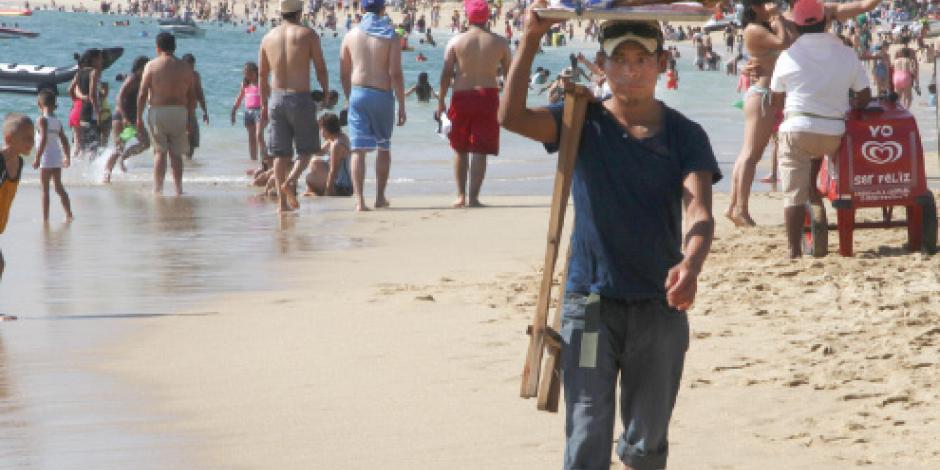Playas atiborradas: 91% de ocupación