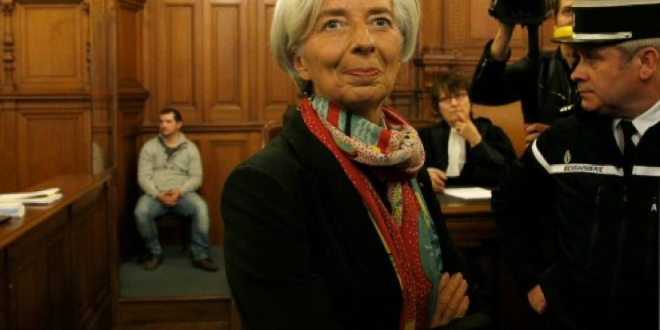 Condena Justicia francesa a directora de FMI por negligencia