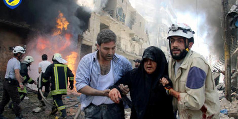 Reportan ataque químico en Siria