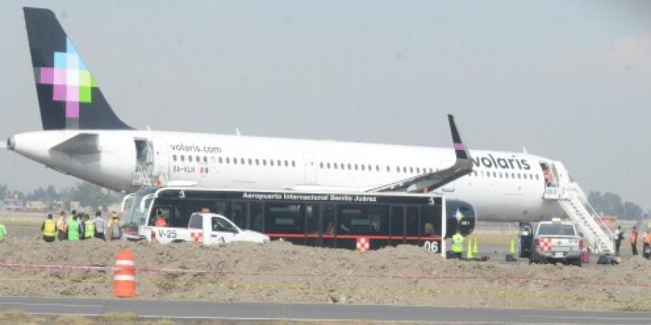 """Suspenden vuelos Interjet y Volaris por huracán """"Newton"""""""