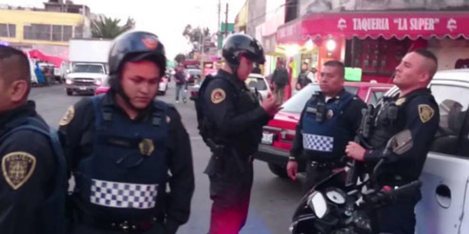 Policía de la CDMX registrará detenciones que realicen