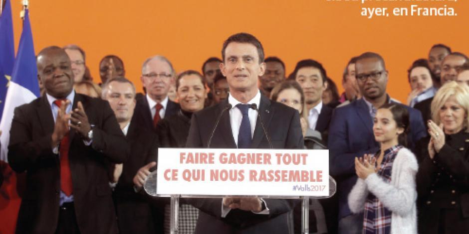 Manuel Valls, al rescate de la izquierda francesa