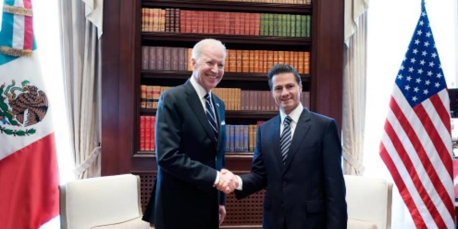 EPN habla con el vicepresidente de EU sobre integración energética