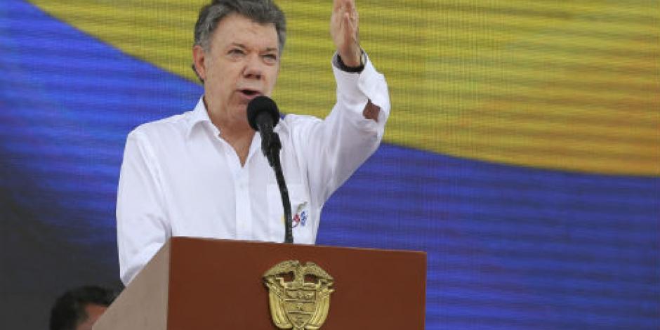Cese al fuego con las FARC, hasta el 31 de octubre, anuncia Santos