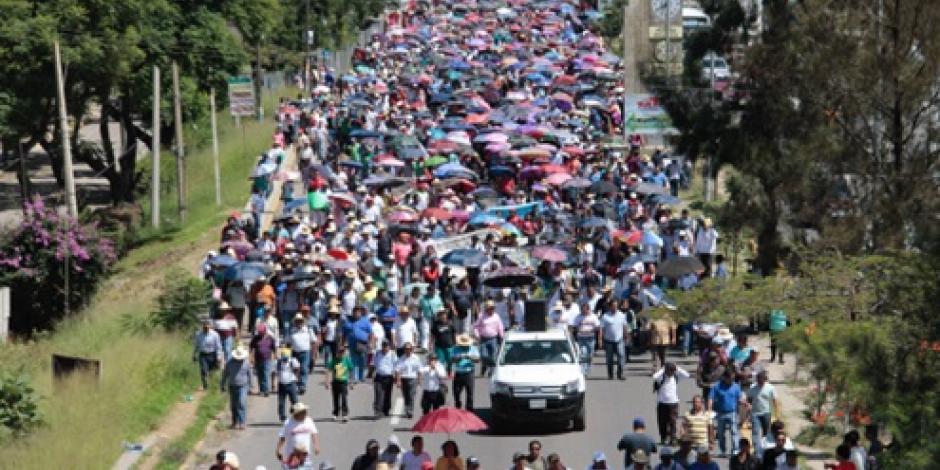 Si gobierno no cumple, no habrá clases ni hoy ni mañana, señala CNTE