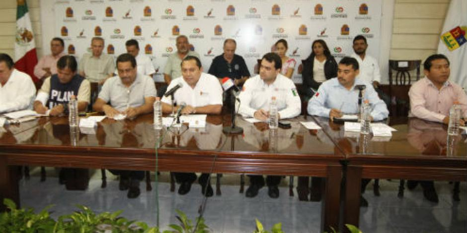 Emite Protección Civil alerta naranja para sur y centro de Quintana Roo por