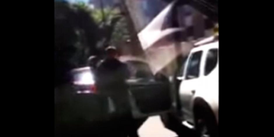 Fiscalía de Morelos colabora para identificar a dueño del Ferrari