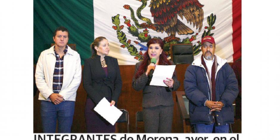 Morena toma el Congreso de Zacatecas