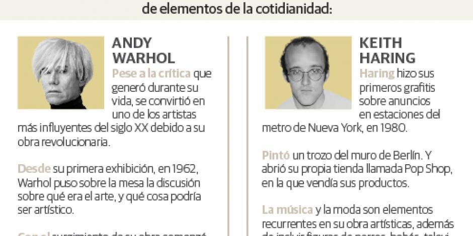 Contrastan arte de Tamayo, Coronel, Warhol y Haring