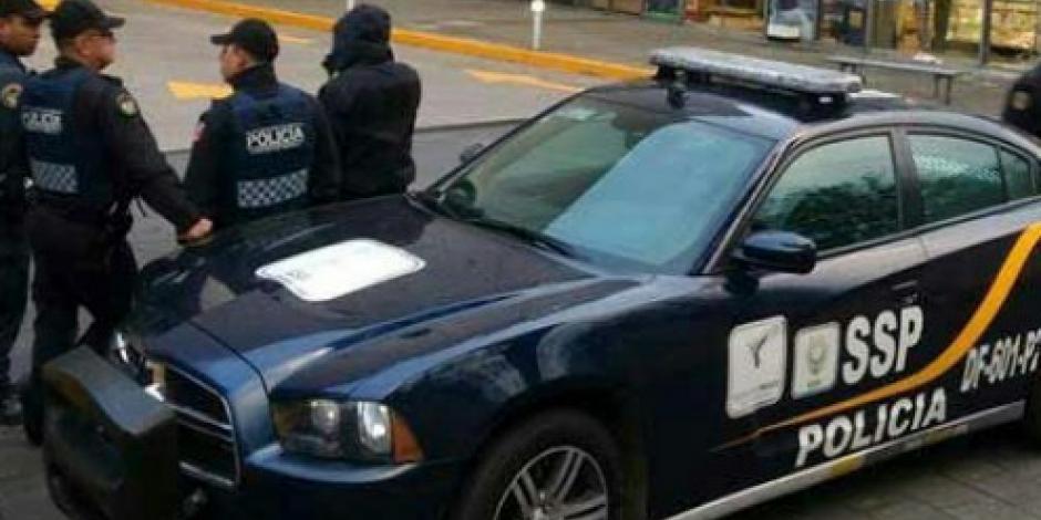 Frustran asaltos en Iztacalco e Iztapalapa; hay dos detenidos