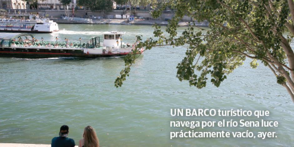 Cae 7% turismo en París; sube en CDMX y Cancún
