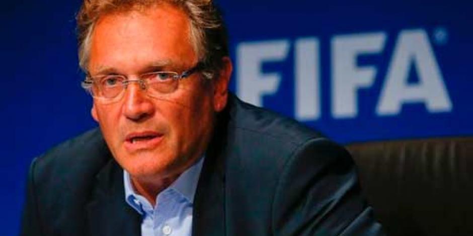 FIFA suspende 12 años a Jerome Valcke