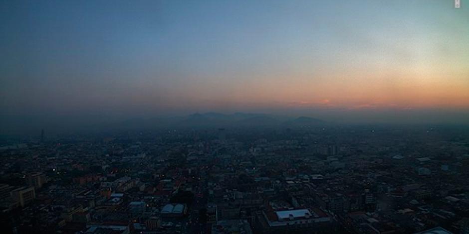 Valle de México amanece con calidad del aire regular
