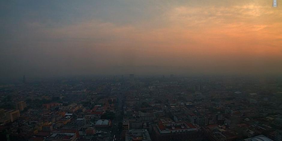 Aún sin radiación solar, hay mala calidad del aire, informa CAMe