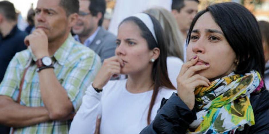 Los colombianos dan la espalda al proceso de paz