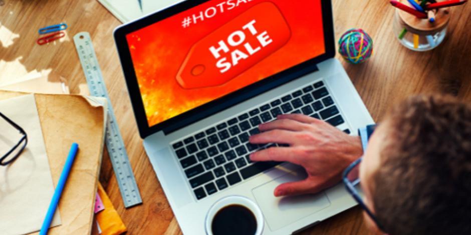 Arranca Hot Sale, promociones de ventas en línea