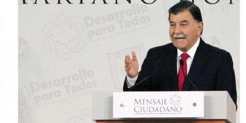 González Zarur rinde informe