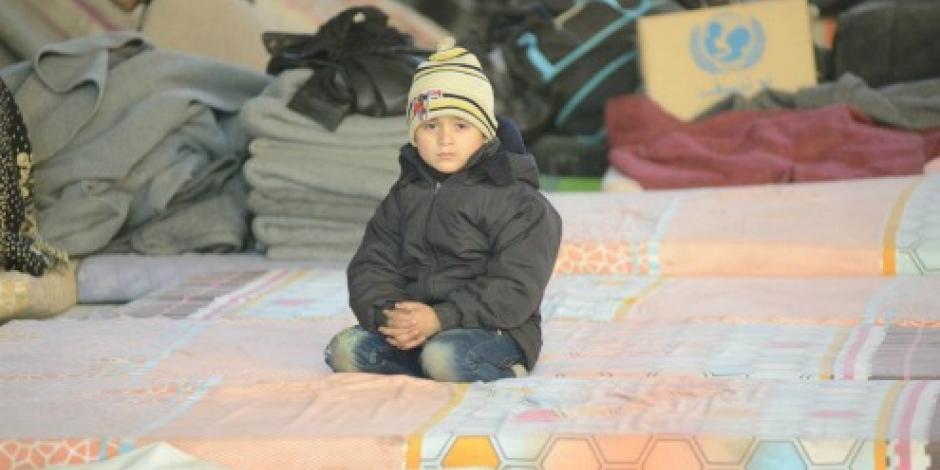 Llega a su destino, primer convoy con civiles de Aleppo