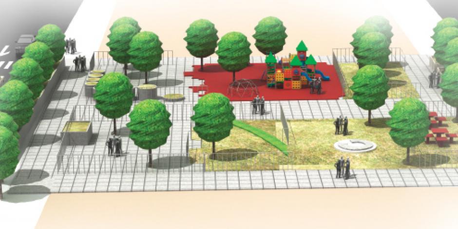 Cambian imagen de la Cuauhtémoc con más calles peatonales, iluminación, áreas verdes…