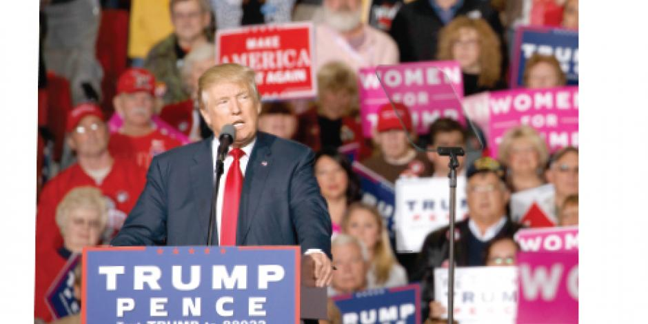 Trump contagia desconfianza en sistema electoral a sus seguidores