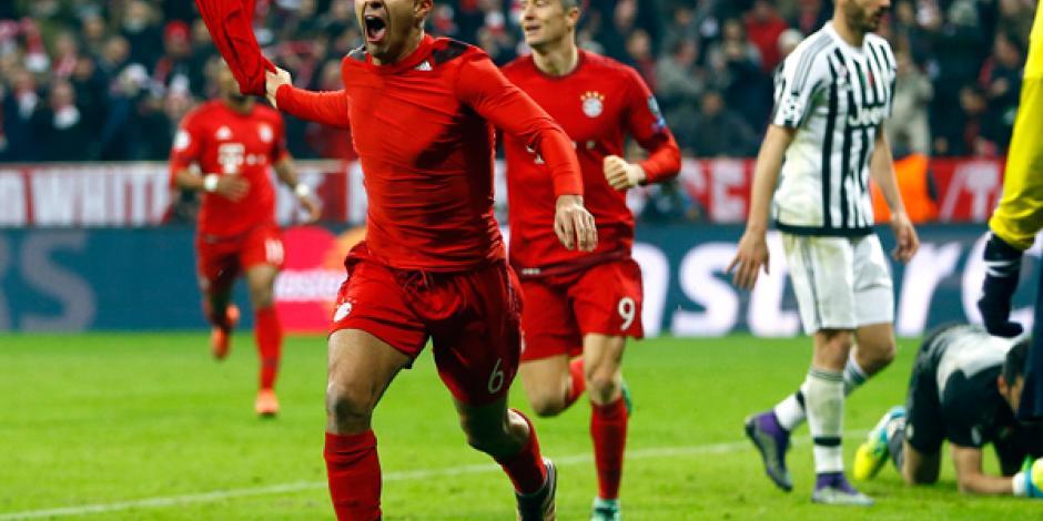 Bayern Munich viene de atrás y elimina a Juventus