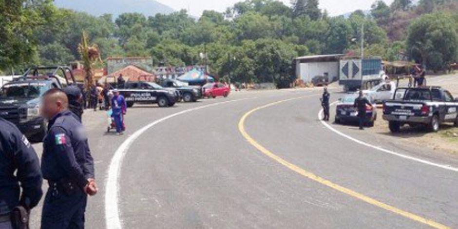 Refuerzan seguridad en límites de Michoacán y Jalisco