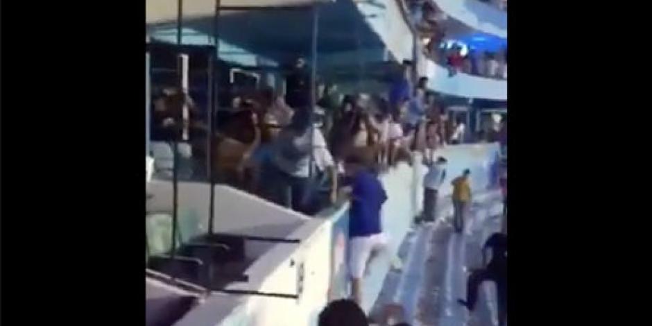 Vandalizan estadio de Tampico y Madero